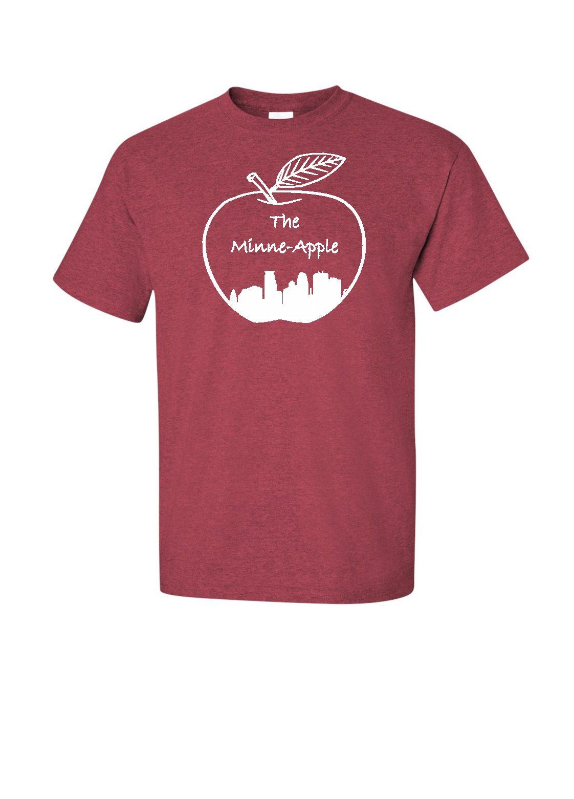 Minne Apple Minnesota T Shirts Sweatshirts With All Original